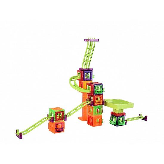 Magnetic Blocks Roller Coaster  78 pcs