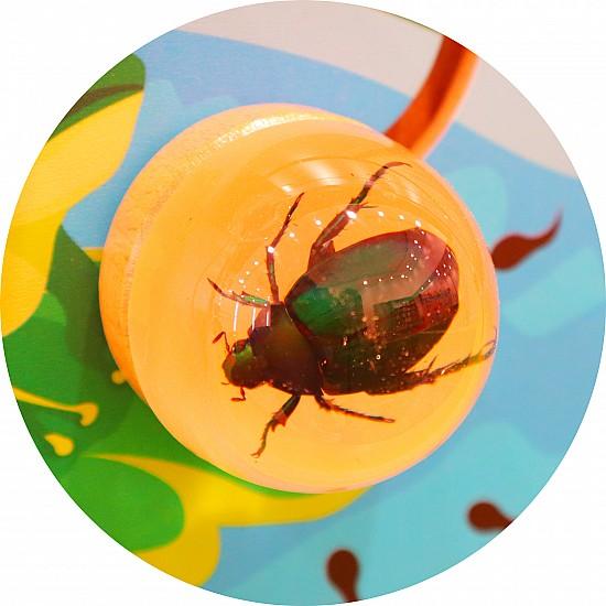 لوحة جدارية خشبية - الحشرات