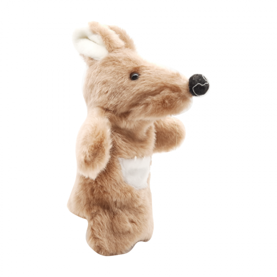 Closed mouth Assorted Hand Puppet Animal   -(per piece)