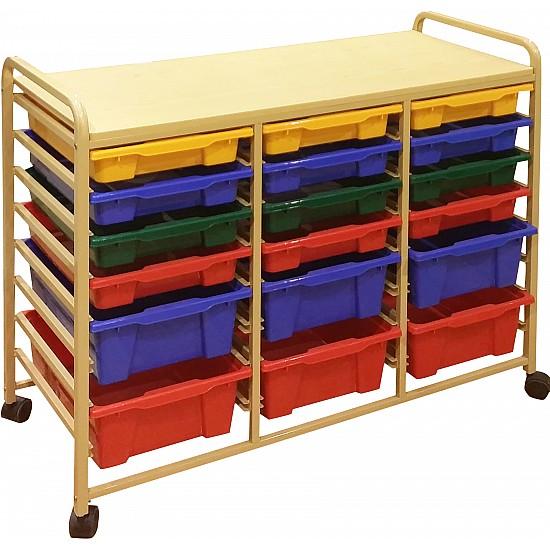 18-Tray Mobile Storage Organizer