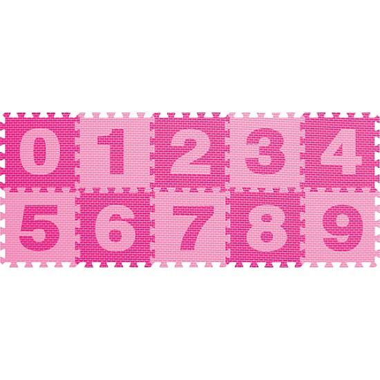 Sunta English Number  Baby EVA Foam Play Floor Puzzle Mat 10Pcs